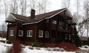 Деревянные дома фото бани